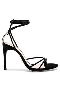 Туфли на каблуке с открытым носком emerson - RAYE