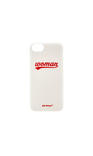 Чехол для телефона woman logo - OFF-WHITE