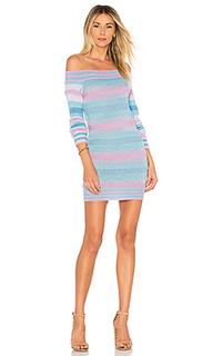 Вязаное платье с открытыми плечами kinsley - Tularosa