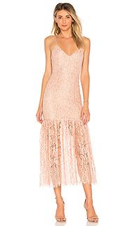 Платье миди brielle - NBD