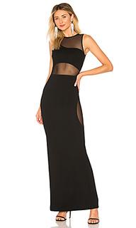 Вечернее платье с вырезом elara - NBD
