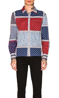 Рубашка patchwork - Stussy
