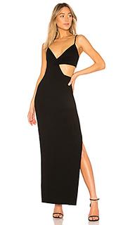 Вечернее платье с вырезом titan - NBD