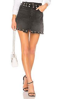 Milla high-rise a-frame skirt - GRLFRND