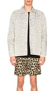 Куртка leopard - Stussy