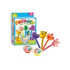Набор пластилина для детской лепки, 5 цветов Sento Sphere