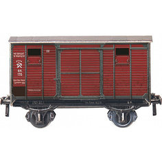"Сборная модель ""Двухосный крытый вагон"" Умная Бумага"