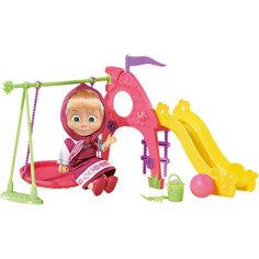 Кукла Маша с площадкой, Маша и Медведь, Simba