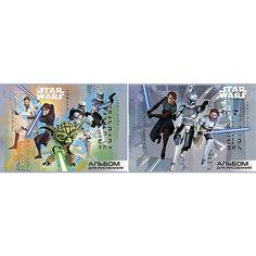"""Альбом для рисования А4 """"Война клонов"""", 16л, Звездные войны Академия групп"""
