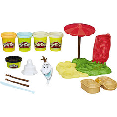 """Игровой набор """"Летние приключения Олафа"""", Play-Doh Hasbro"""
