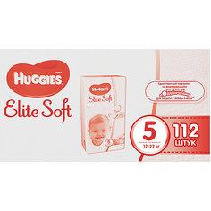 Подгузники Huggies Elite Soft 5, 12-22 кг, 112 шт.