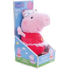 """Мягкая игрушка """"Пеппа-балерина"""", 30 см, со звуком Росмэн"""