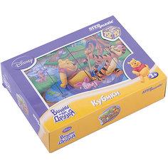 "Кубики ""Винни Пух"", 12 шт, Step Puzzle Степ Пазл"