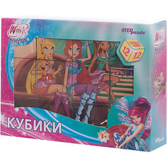 """Кубики """"Winx Club """", 12шт, Step puzzle Степ Пазл"""