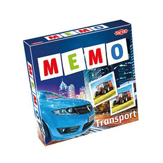 "Игра Мемо ""Транспорт 2"", Tactic Games"
