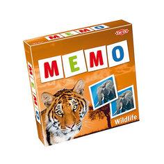 """Игра Мемо """"Дикие животные 2"""", Tactic Games"""
