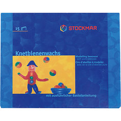 Воск для моделирования, 15 цветов, Stockmar