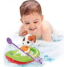 """Игрушка для ванны """"Щенок на лодке"""", TOMY"""