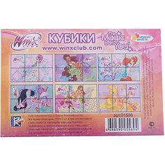 Кубики Winx (6 кубиков), Играем вместе