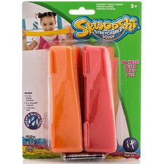 Масса для лепки в контейнерах, 2 цвета Skwooshi