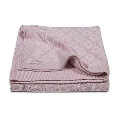 Вязаный плед 75х100 см, Jollein, Vintage pink