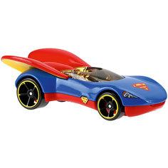 Машинка DCSHG Супергёрл, Hot Wheels Mattel