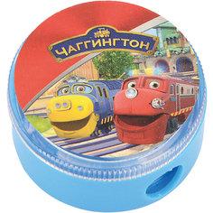 """Точилка с контейнером """"Весёлые паровозики из Чаггингтона"""" Proff"""