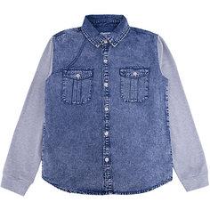 Рубашка джинсовая для мальчика Scool S`Cool
