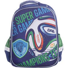 Ранец Super bag Футбол, ортопедическая спинка Limpopo