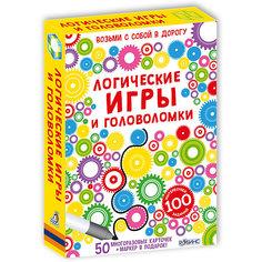 """Развивающие карточки """"Логические игры и головоломки"""" Робинс"""