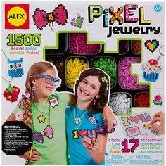 """Набор для создания браслетов """"Пиксели"""", Alex"""