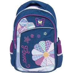 Школьный рюкзак с уплотненной спинкой и светоотражателями Centrum