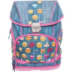 Рюкзак школьный Смайлы, девочки Centrum