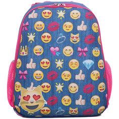 Рюкзак школьный каркасный Смайлы Centrum