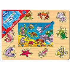 """Игра из дерева """"Весёлое лото. Подводный мир"""", Step Puzzle Степ Пазл"""
