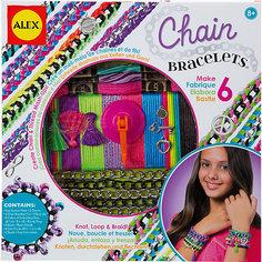 """Набор для создания браслетов """"Цепочки и пряжа"""", ALEX"""