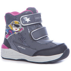 Ботинки со светодиодами для девочки Geox