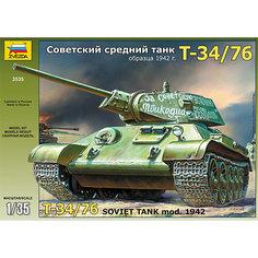 """Сборная модель Звезда """"Танк Т-34/76 1942г."""", 1:35"""