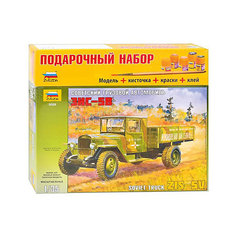 """Сборная модель Звезда """"Грузовик ЗиС-5"""", 1:35 (подарочный набор)"""