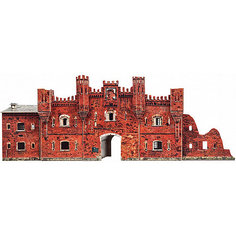 """Сборная модель """"Холмские ворота (Брестская крепость)"""" Умная Бумага"""