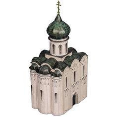 """Сборная модель """"Церковь Покрова на Нерли  XII век"""" Умная Бумага"""