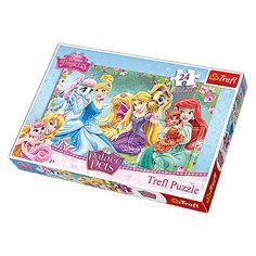 Пазлы Trefl Макси - Прекрасные принцессы, 24 элемента