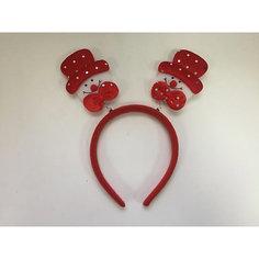 Новогоднее украшение Снеговик в красной шляпе Magic Time