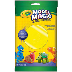 Застывающий пластилин Crayola Model Magic, желтый 113 гр
