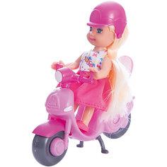 """КУКЛА """"HELLO KITTY. Машенька"""" 12 см, твердое тело, на скутере.. Карапуз"""