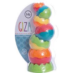 Пирамидка GIZA Happy Baby