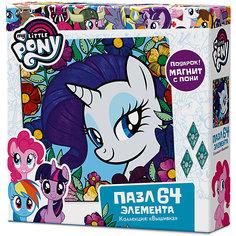 "Пазл Origami ""My little pony"" 36 элементов + магнит Рарити"