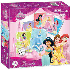 """Пазл-игра Step Puzzle Кубик-Puzzle """"Disney Принцессы"""""""