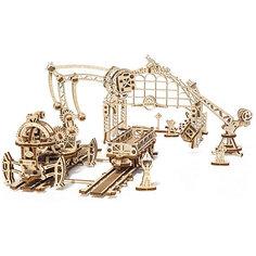 Конструктор 3D-пазл Ugears - Манипулятор на рельсах