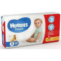 Подгузники Huggies Classic 5 Mega Pack, 11-25 кг, 58 шт.